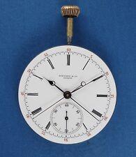 Tiffany & Co. Split Seconds Chronograph Pocket Watch Movement Very Rare Ebauche