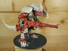 CLASSIC METAL WARHAMMER TYRANID CARNIFEX PAINTED (L)
