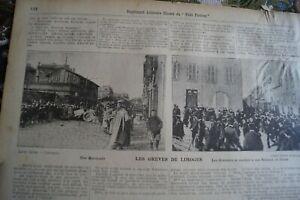 1905 Zeitungsdruck 148 / Limonges