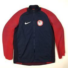Nike Team Men's Jacket M  USA Olympic Dynamic Reveal Gold Medal 810564-451 II8