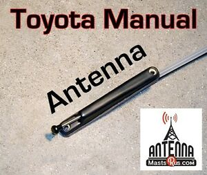 Direct Fit Manual PILLAR AM / FM ANTENNA Fits: 2000-2005 Toyota ECHO *Brand New*