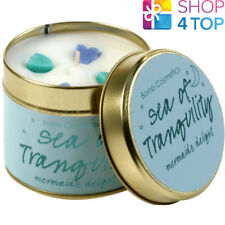 SEA OF TRANQUILITY TINNED CANDLE TIN BOMB COSMETICS CITRUS SCENTED NEW
