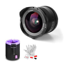 7artisans 12mm F2.8 Wide Angle Manual Lens F Fuji X Mount Mirrorless+ Lens Pouch