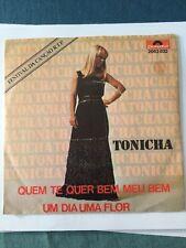 Rare-Disque 45t- présélection Portugal EUROVISION 1978- TONICHA-Quem Te Quer Bem