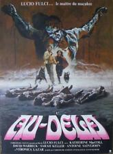 AND YOU WILL LIVE IN TERROR : THE BEYOND - FULCI - ORIGINAL FRENCH MOVIE POSTER