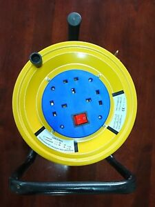 3 Gang New Extension Cord Reel 20m, 40m Home Construction High Quality 16A
