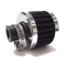 Aire Universal Respirador de filtro-Negro 10 Mm Cuello Y Abrazadera
