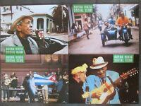 BUENA VISTA SOCIAL CLUB - 8 Aushangfotos - Wim Wenders