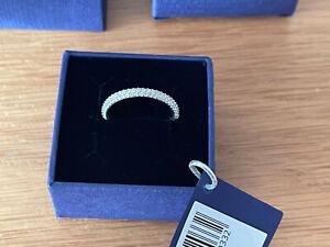 Women Genuine Swarovski Stone Ring ,Size 60 ,Comes in original box.