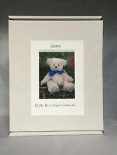 'GRACE' Bear Making Kit