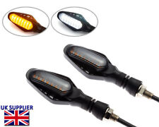 Motorbike LED Indicators Turn Signals Blinkers with Integrated Driving Lights