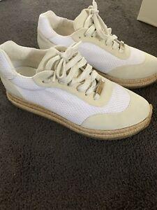 Stella McCartney Hana mesh lace up sneakers White
