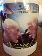 Star Trek Next Generation 1997 Spencer Gifts Limited To 3000 All Good Things Mug