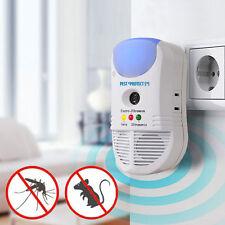 Répulsif Sur Prise Anti-Insectes Nuisibles 5 en 1 À Ultrason Pest eProtect Neuf