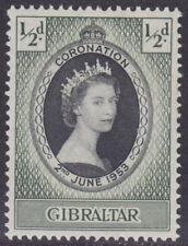 GIBRALTAR - 1953 Coronation (1v) - UM / MNH