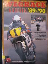 Motor Book Wegrace kroniek '89/'90, Hans van Loozenoord (TTC) ex-bibliotheek