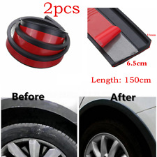 Universal 59'' Car Fender Flares Extension Wheel Eyebrow Protector Lip Moulding