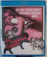 The Curious Female Blu-ray (2017 - Code Red - OOP) ~ 60s Sci-Fi Cult Classic