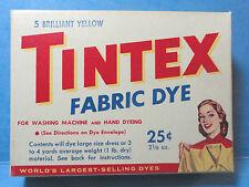 Tintex Brilliant Yellow Fabric Clothes Dye