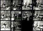 GLO8+1966+Orig+Oversize+Contact+Sheet+Globe+Photo+ELKE+SOMMER+Husband+JOE+HYAMS