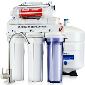 iSpring F28K75 3-Year Replacement Supply Set for 6-Stage Reverse Osmosis RO Water Filtration Systems with Alkaline Mineral Filter White