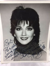 1979 JOYCE DEWITT, THREE'S COMPANY, HAND SIGNED 8X10 B&W PHOTO WITH INSCRIPTION