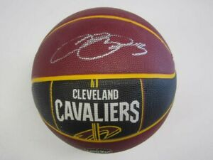 LeBron James Signed Basketball  Cleveland Cavaliers