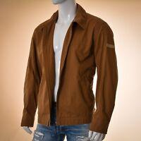 Camel Active jacket men size XL brown 52% cotton Genuine