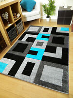 Purple Grey Blue Modern Style Soft Thick Runner Rug Small Extra Large Mat Cheap