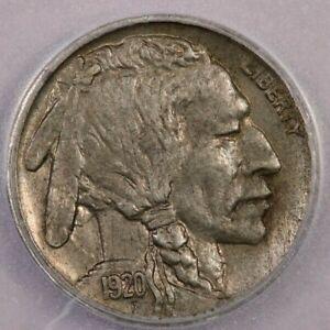 1920-D 1920 Buffalo Nickel ICG AU58 Rotated Dies