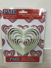 PME 6 piece Heart Cutter Set