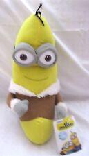 "Disney 10"" Despicable Me 2 Minions Banana Eskimo Soft Stuffed Toy-Brand New!"