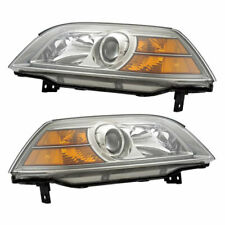 Pair New Left Right Headlight Assembly For Acura MDX 2004 2005 2006