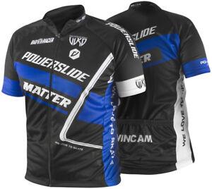 Powerslide Racing Jersey Short Sleeve Speed Skating Kleidung Matter made in EU