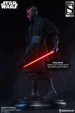 Sideshow Collectibles DARTH MAUL EXCLUSIVE Star Wars Episode I Low #27 Sealed