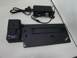 Lenovo 40AJ ThinkPad Ultra Docking Station with 135W Lenovo AC Adapter, No Keys