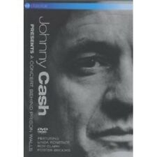 """JOHNNY CASH """"A CONCERT BEHIND PRISION WALLS"""" DVD NEW!"""
