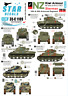 Star Decals 35-C1109 Decals-Kiwi Armour 2-Shermans of 18th & 20th Armoured Reg.