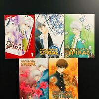 Pieces of a Spiral Vol. 1-5 Manga Graphic Novel Anime  Lot in English
