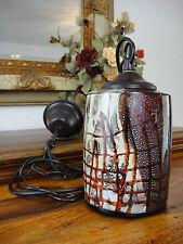 Deckenlampe Murano Stil Hängelampe Jugendstil Handwerkskunst Antik Glas Edel NEU