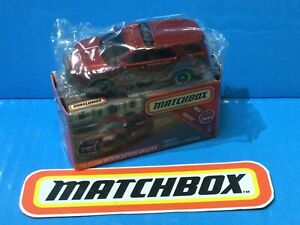 2019 MATCHBOX NEW MODEL '16 FORD INTERCEPTOR UTILITY #42 RED RESCUE FIRE CHIEF