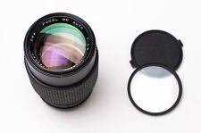 Focal MC Auto 135mm F2.8 Telephoto Lens Caps & Filter M42 NEX M4/3 EOS (#2053)