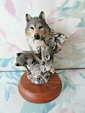 """Mill Creek Studios """"Peaceful Play"""" Sculpture Statue Figurine Figure, Very Rare"""