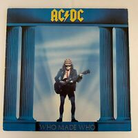 ACDC, Who Made Who, 1986 Vinyl LP (Condition VG)