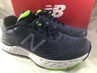 New Balance Mens M680ln6 Gray Running Shoes Size 8.5 D