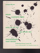 Marlborough Rare Books Catalogue 51 Modern Illustrated Books