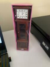 DOLL HOUSE GRANDFATHER CLOCK WITH OPERATIONAL DOORS