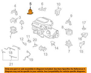 50820SEPA03 Acura OEM 07-08 TL Engine Motor Mount