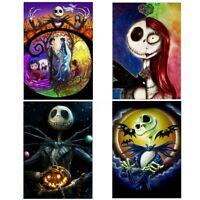 Full Drill Halloween skull DIY 5D Diamond Painting Cross Stitch Kits Home Decor