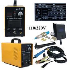 Air Plasma Cutter 50A CUT-50 Digital DC Inverter Cutting Machine Welder 110-220V